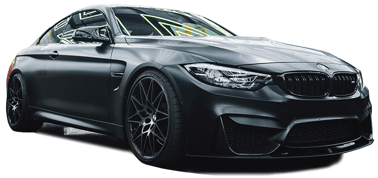 black bmw m3 coupe car